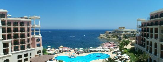 The Westin Dragonara Resort, Malta: Sea view from hotel terrace