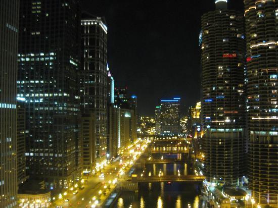 Wyndham Grand Chicago Riverfront: View from a room at 26th floor