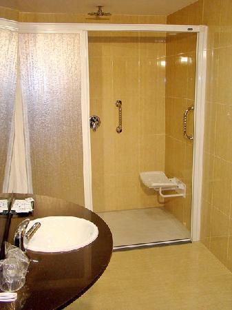Hotel Avenida: Baño Adaptado