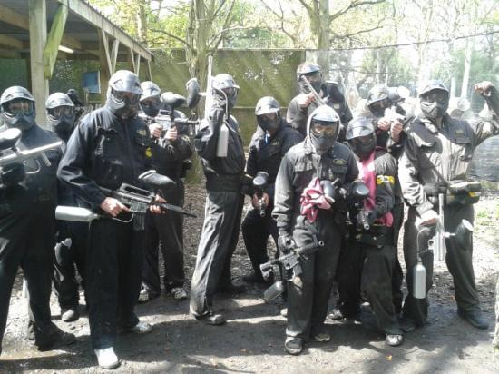 Delta Force Paintball Holmes Chapel: 12/05/12