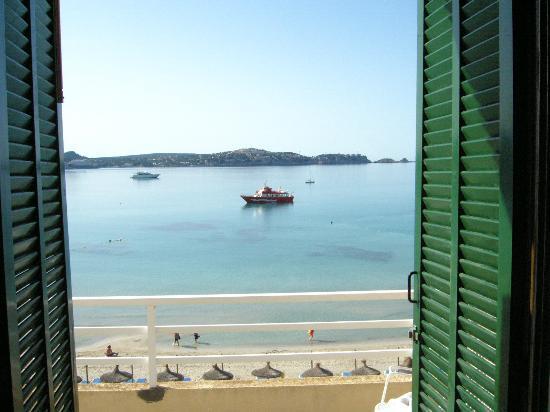 Hotel Carabela: Blick aus dem Zimmer