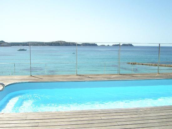 Hotel Carabela: Der kleine Pool auf dem Dach