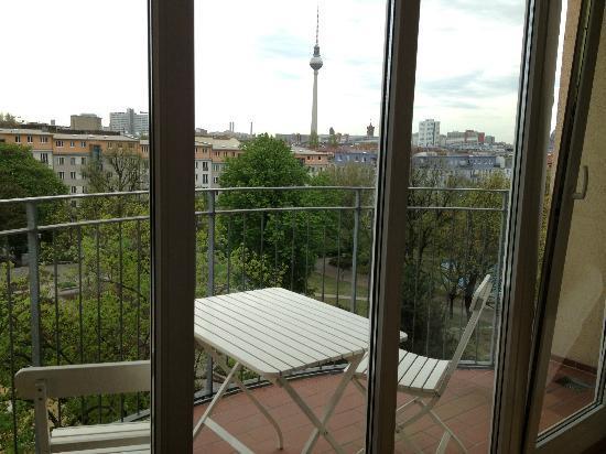 Midi-Inn - Hotel: Blick aus dem Zimmer