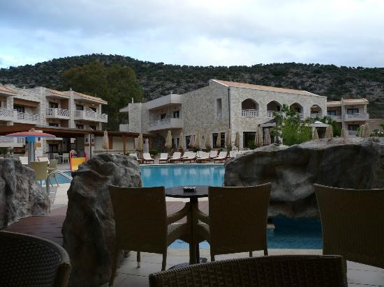 Cactus Royal Resort: vue du bar