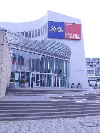 Schokoladenmuseum Köln: Eingang zum Museum