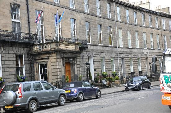 The Royal Scots Club: Exterior of hotel