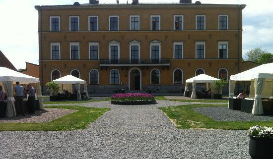 Ulfsunda Castle: Inbjudande entré