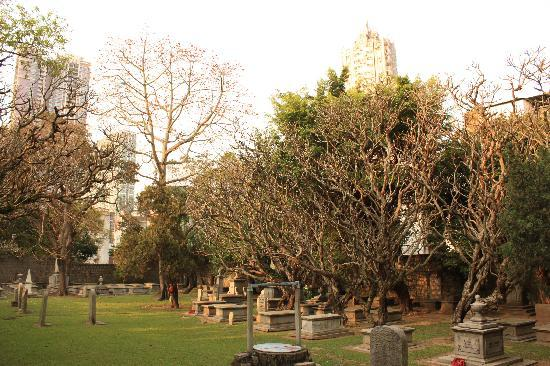 Old Protestant Cemetery: 墓地