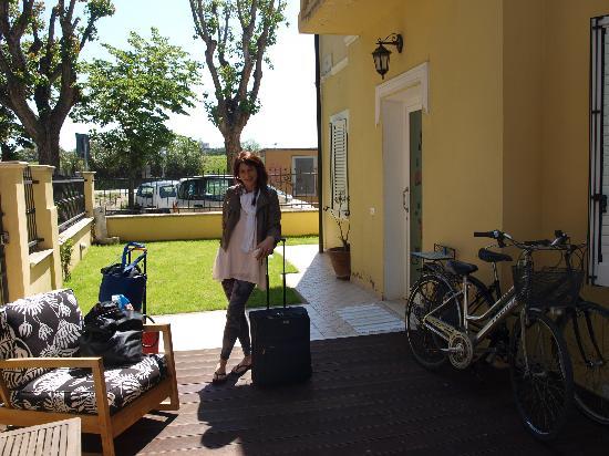 Villa Grazia: la mattina del sabato quando abbiamo fatto finta di partire ;-)