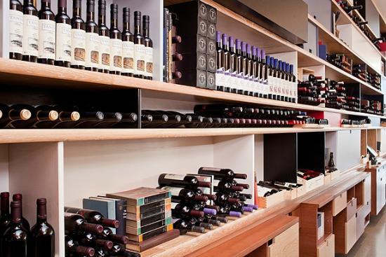 Modern Restaurant Jerusalem: modern wine colection