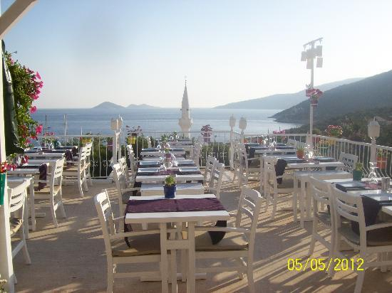 Agora Restaurant : View from terrace