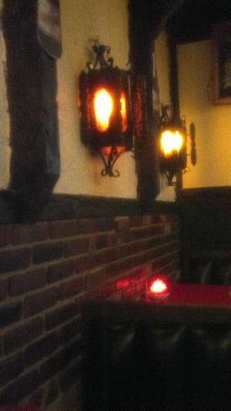 El Mariachi: Indoor dining booths/bar area
