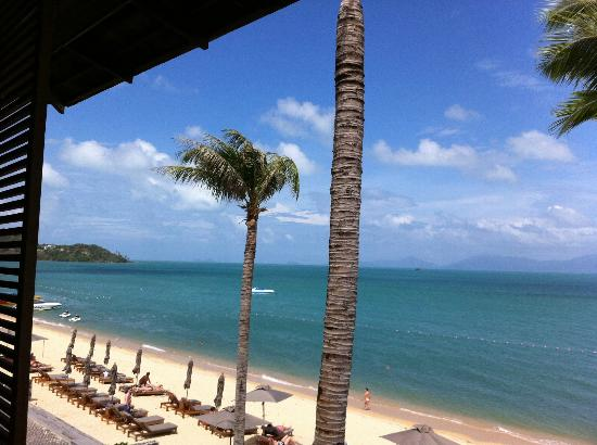 Hansar Samui Resort: Beautiful view from the room