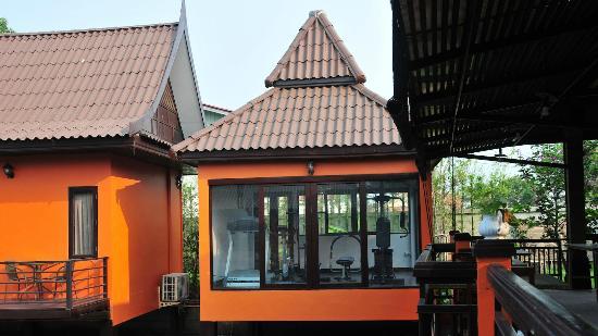 Pludhaya Resort and Spa : Fitnessraum