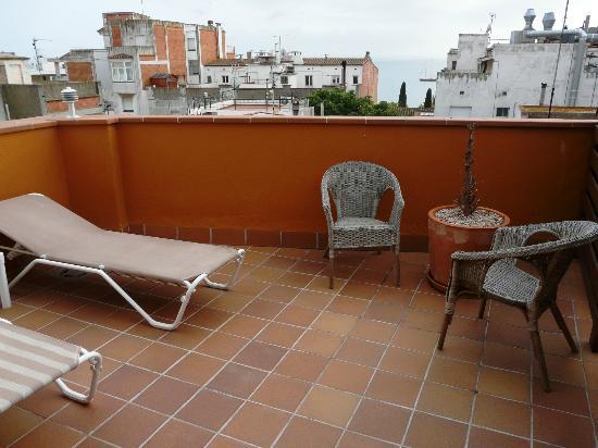Carmen Hotel: Vistas desde la terraza de la habitación