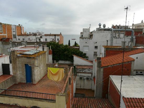 Carmen Hotel : Vista desde la terraza de la habitación