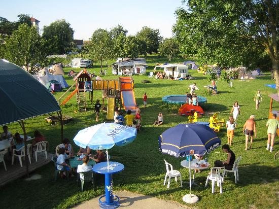 Ferme de la Corbière : Le Camping