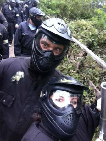 Delta Force Paintball Effingham: on a mission