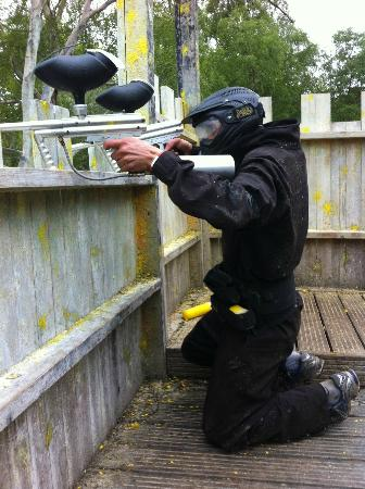 Delta Force Paintball: shootingggggg