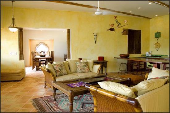 لا بيرلا ديل كاريبي: Villa Pearl Living Room