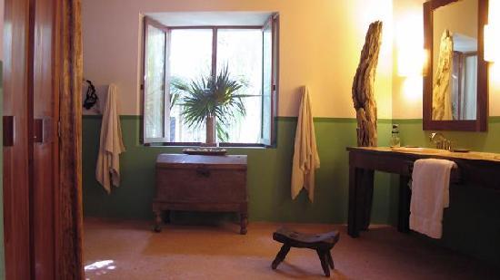 La Perla Del Caribe: Villa Sand Master bathroom