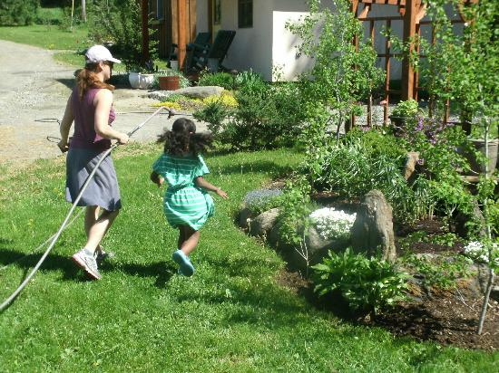 Sheady Acres Rental Cottages: Maintaining the Gardens
