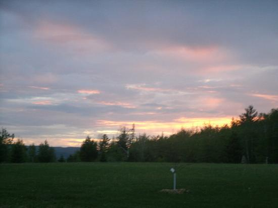 Sheady Acres Rental Cottages : Sunsets are amazing from the cottages' view