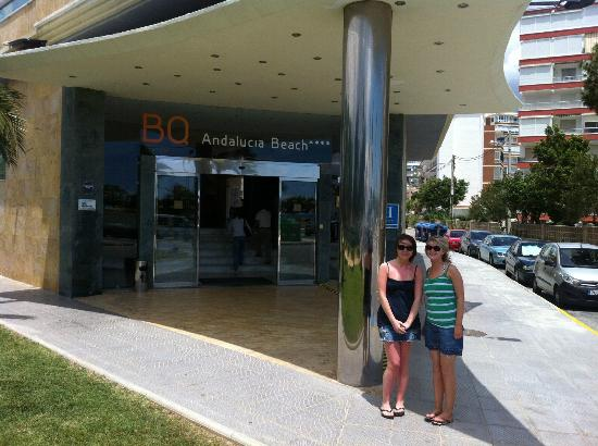 BQ Andalucia Beach Hotel: front entrance