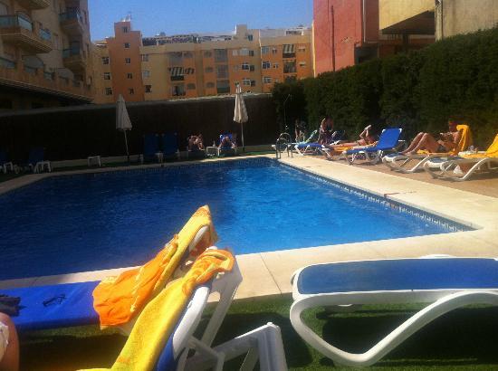 BQ Andalucia Beach Hotel: pool view