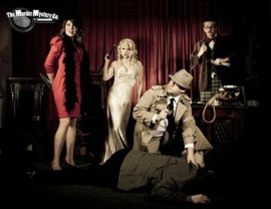 The Murder Mystery Company in Charlotte: Murder Mystery Dinner birthday party team building