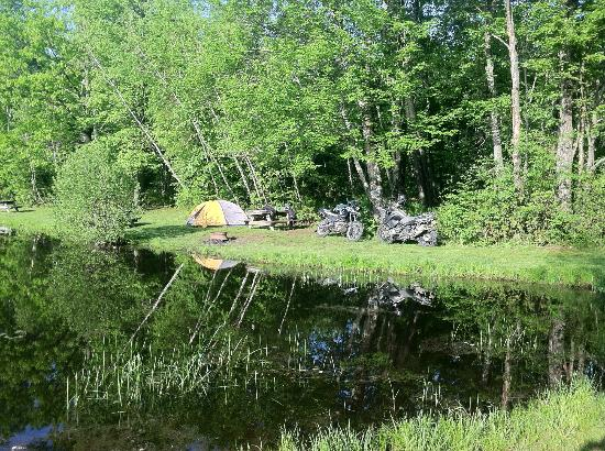 Prospect Mountain Campground: Tent Site