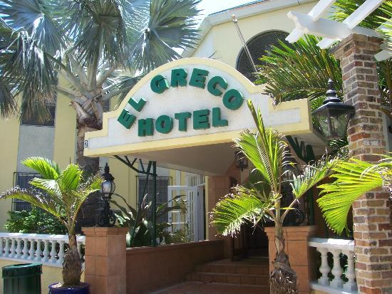 El Greco Hotel: Hotel Entrance