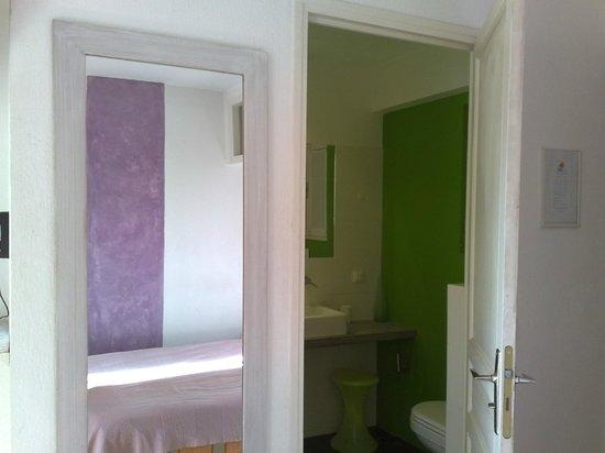Hotel Le Val Duchesse :                   Vista su bagno