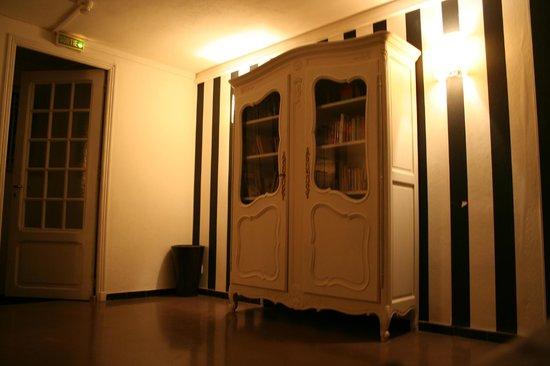 Hotel Le Val Duchesse :                   spazio comune