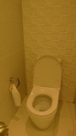 The Bayleaf Intramuros: Small seperate toilet