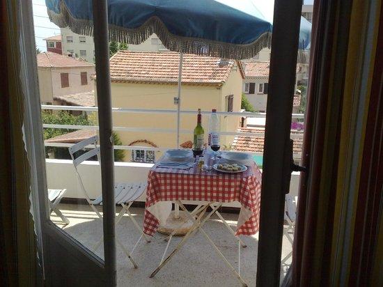 Hotel Le Val Duchesse :                   terrazzino