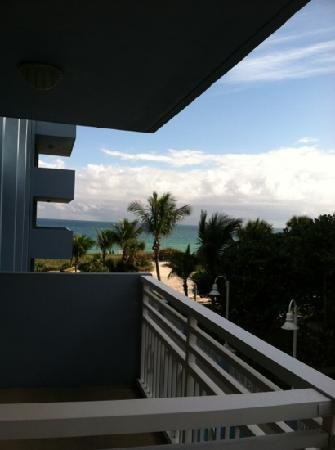 Solara Surfside Resort: view from balcony