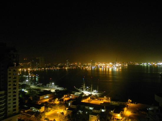 Decameron Cartagena: Vista desde la terraza del piso 23