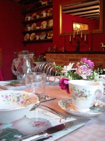 The Church Farm : dining room