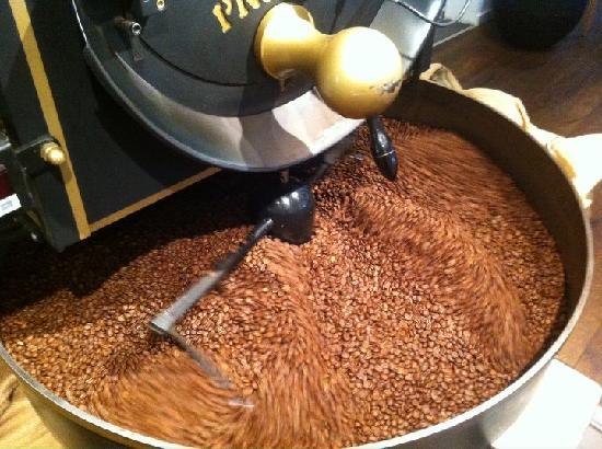 Provianten: Freshly roasted coffee
