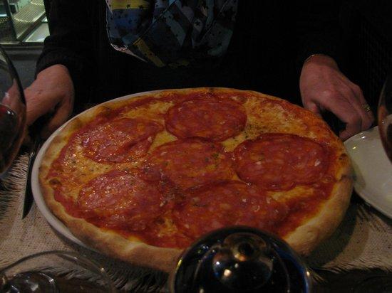 Ristorante Vesuvio of Copenhagen : Pizza!