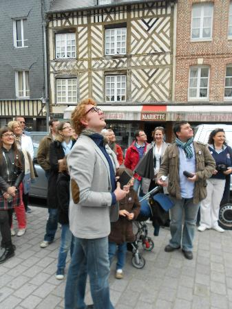 Le Mystérieux Rubis de Honfleur: L'écrivain narrateur de cette fabuleuse histoire