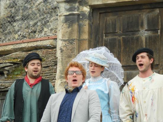 Le Mysterieux Rubis de Honfleur: La troupe au grand complet
