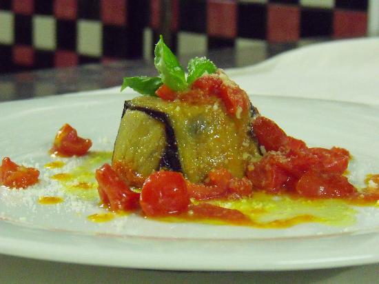 Ristorante Pizzeria Giardiniello : Parmigiana di pesce bandiera