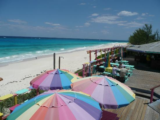 Nippers Beach Bar & Grill : Fun and great food!