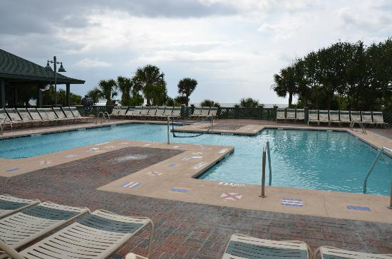 Disney's Hilton Head Island Resort: Pool at the beach house
