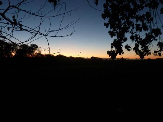 Vina Chillan: Sonnenaufgang auf dem Weingut