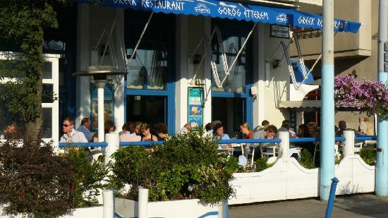 Taverna Dionysos : view of the terrace