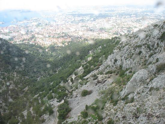 Telepherique du Mont Faron: Spectacular view