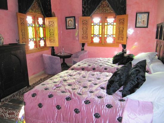 Riad Raouia : habitación